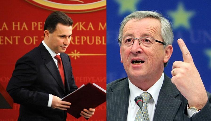 Cancellation of meeting between Juncker and Gruevski sparks political debates in FYROM