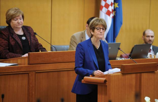 Anne Brasseur on a three-day official visit to Croatia