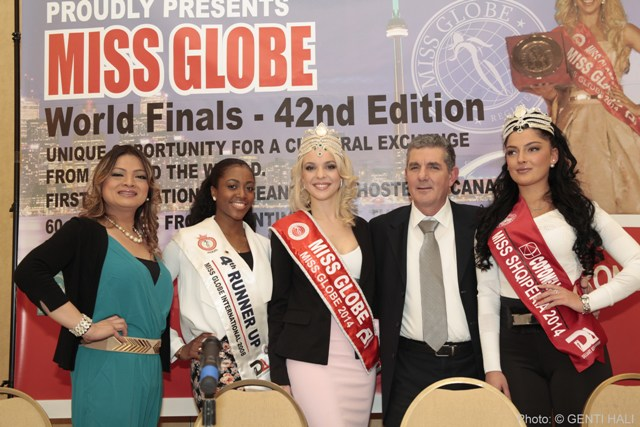 "Albania takes ""Miss Globe"" to Canada"