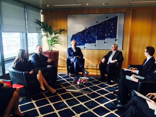 Rama-Juncker: Assistance for the EU perspective