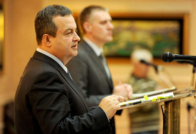 Dacic in Montenegro, as chair of the OSCE