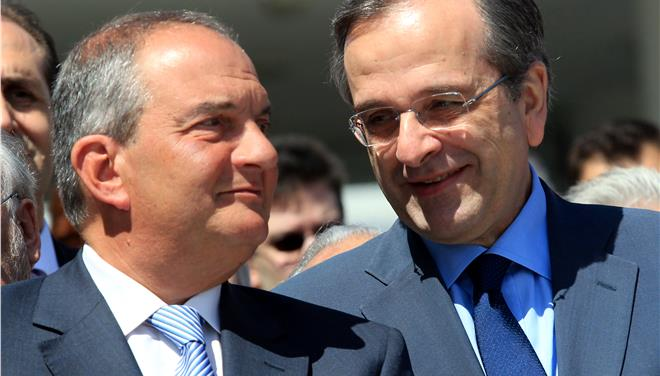 Samaras-Karamanlis decide to ease intraparty tension