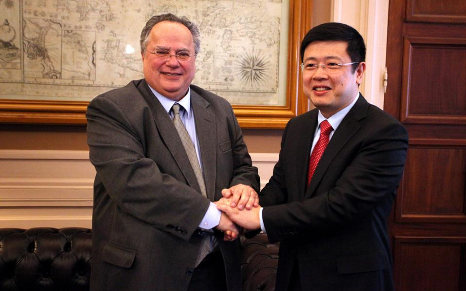 Greek FM meets with Chinese ambassador, focusing on PPA