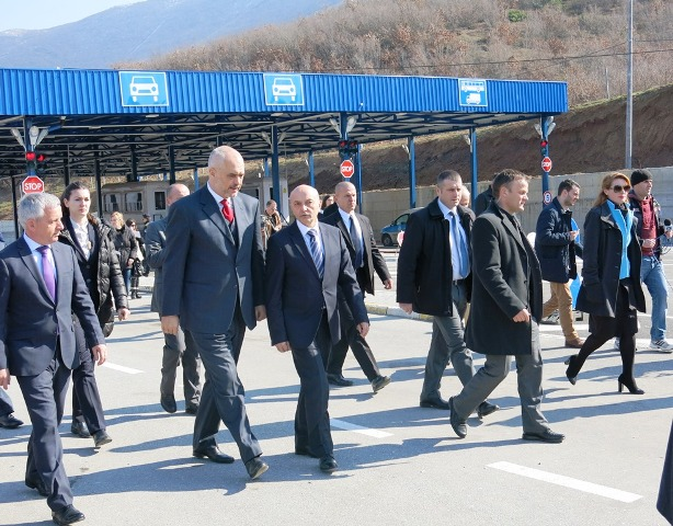 Joint customs between Albania and Kosovo