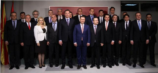 Second joint government meeting between FYROM and Serbia