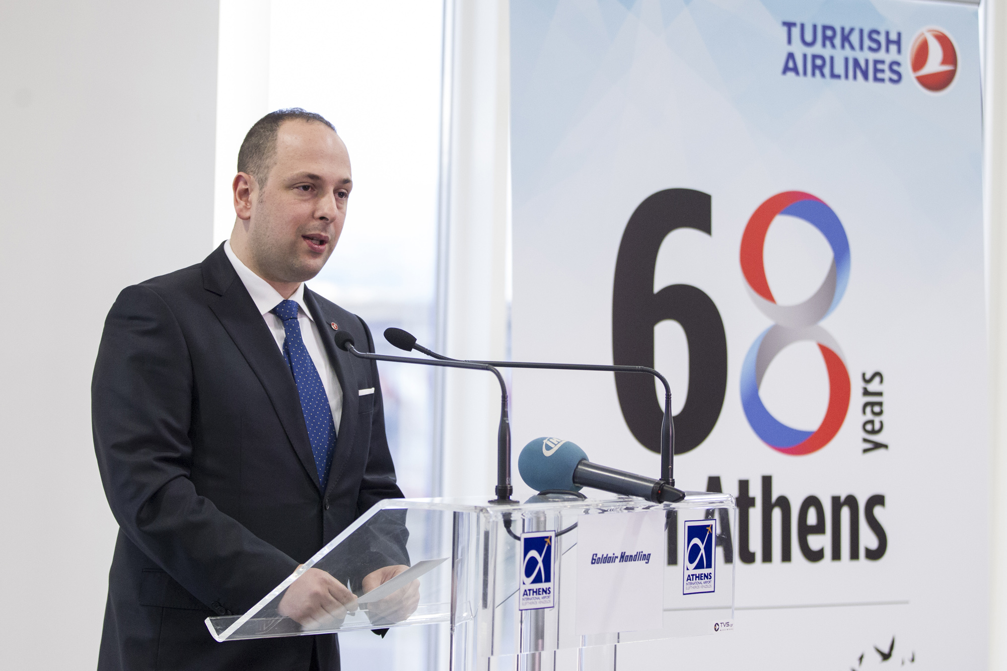 Turkish Airlines celebrates its 68 years of operation in Athens