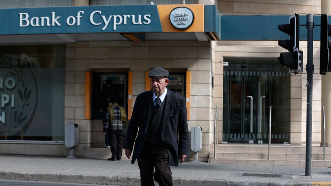 Banking transactions relaxed in Cyprus