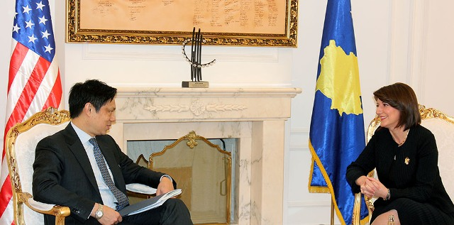 Jahjaga-Hoyt Yee: Kosovo is meeting its obligations toward international community