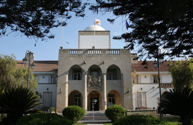 Changes in the hierarchy of the Cyprus Presidential Palace