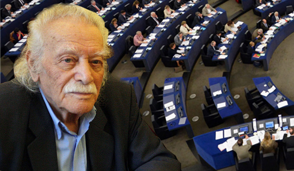 Glezos requests a special discussion in the EP for Greece