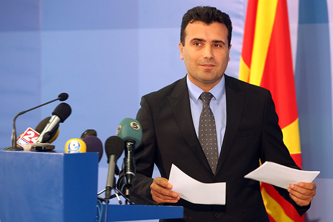 Zaev demands the mandate to form a government