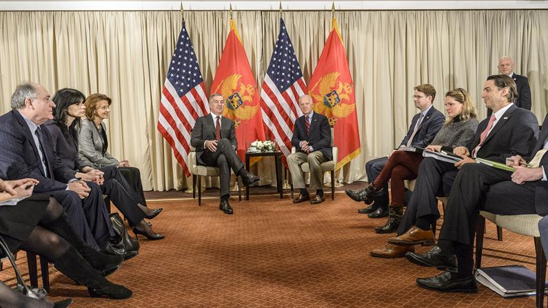 Biden: Support of the United States with the fulfillment of conditions