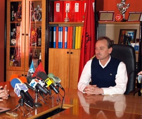 Mayor of Vlora Shpetim Gjika arrested
