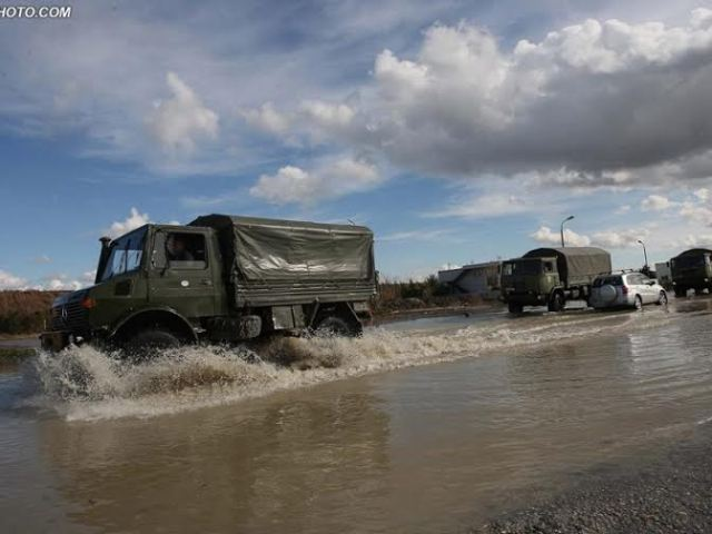 Kosovo businessmen offer their aid for the floods in Albania