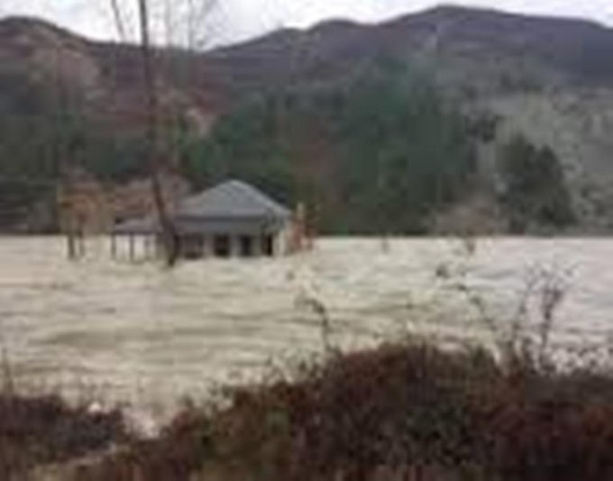 First victim of floods in Albania