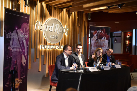 The first Hard Rock Café on the Balkans opens in Podgorica