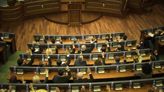 Parliament of Kosovo ratifies a resolution aiming at stopping illegal migration