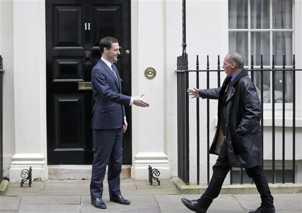 What Varoufakis got from London