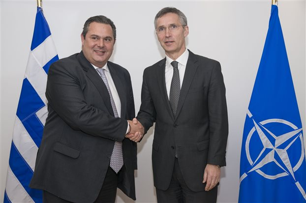 Kammenos to Stoltenberg: True to our commitments to the Alliance