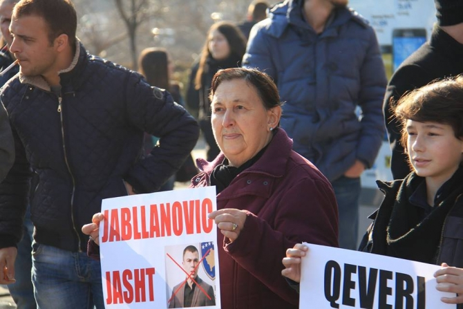 Today's protest cancelled, Jablanovic's removal upsets Belgrade