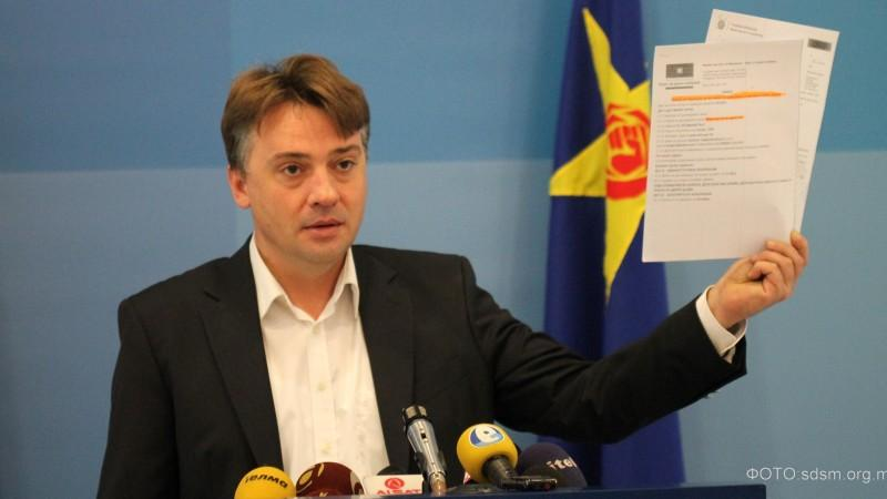 Macedonian opposition to press criminal charges against PM Gruevski
