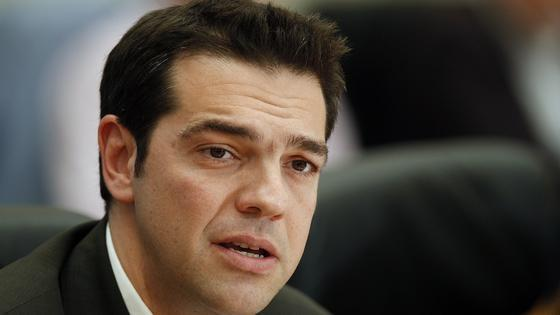 Alexis Tsipras on an official visit to Cyprus