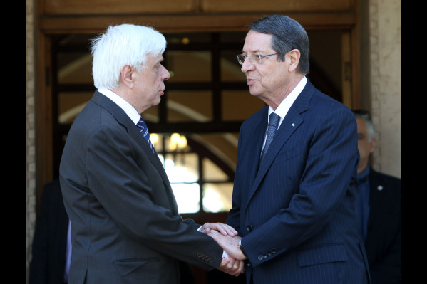Pavlopoulos calls Turkey to demonstrate will for Cyprus solution