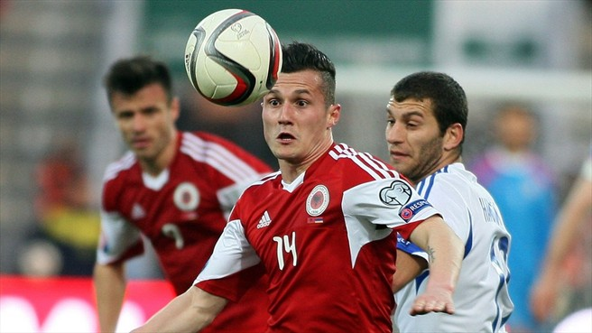 Albania defeats Armenia and positions itself third in the group