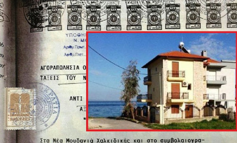 Macedonian opposition leader accused of owning properties in Greece