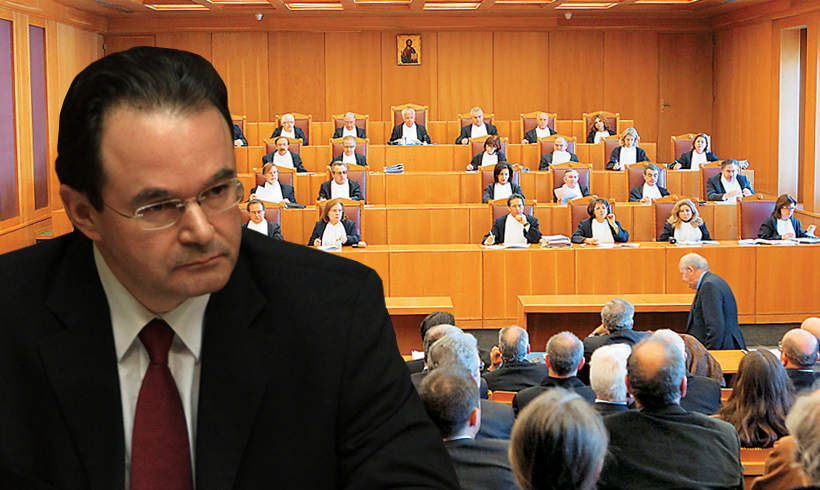 Papakonstantinou sentenced to one year imprisonment with three-year suspension for a misdemeanor