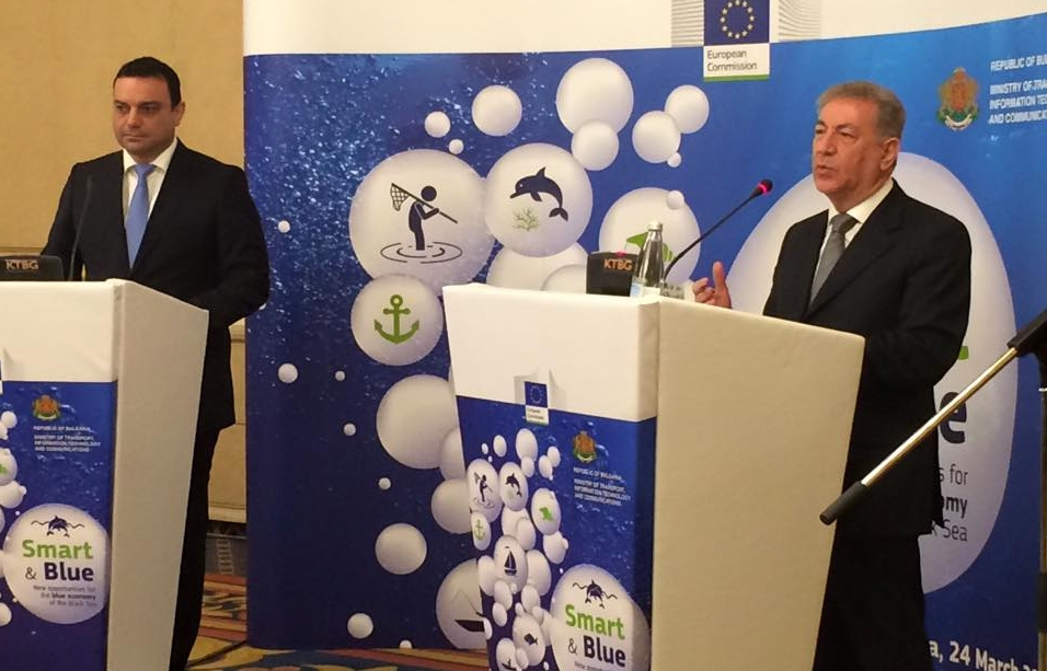 EU environment commissioner punts 'blue economy' at conference in Sofia
