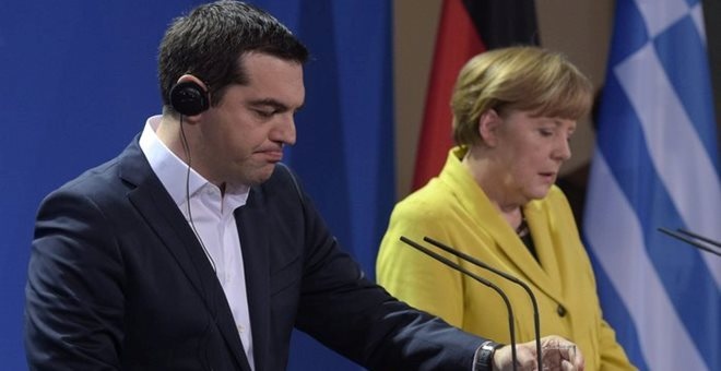 Tsipras-Merkel meeting conducted in good spirit despite differences between Athens and Berlin