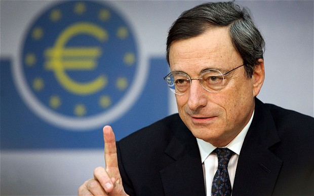 Draghi: The ECB is not blackmailing Greece