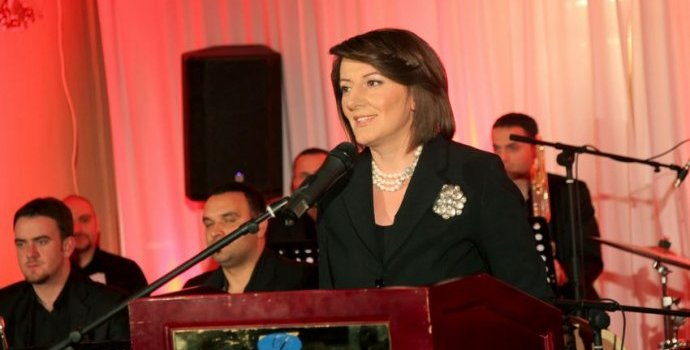 We will offer support for people suffering from the Down Syndrome, says president Jahjaga