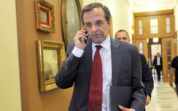 Is Antonis Samaras' phone being monitored?