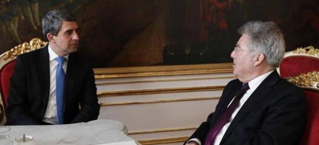 Bulgarian, Austrian presidents back European integration of western Balkans