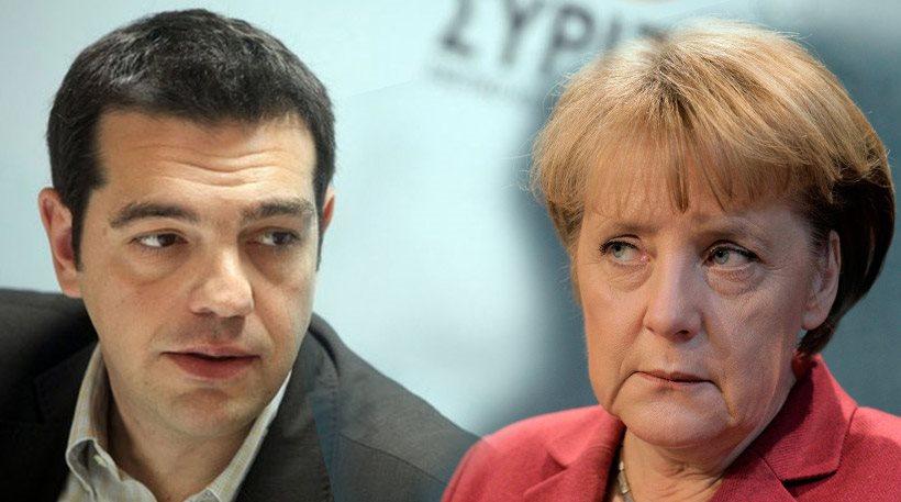 Tsipras accepts Merkel's invitation to visit Berlin