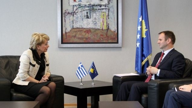 Kosovo demands Greece's recognition