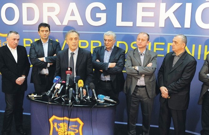 Separation of the Montenegrin opposition scene continues
