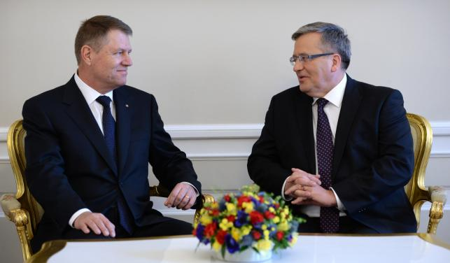 Romania and Poland vow to join forces to beef up NATO's Eastern flanks