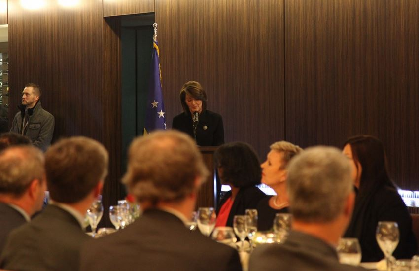 President Jahjaga gives messages of hope for the country