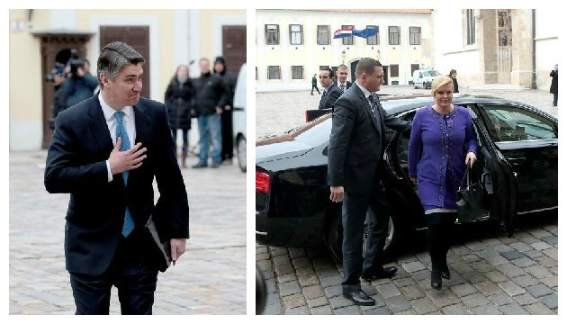 Croatia's President and Prime Minister finally meet – atmosphere was good