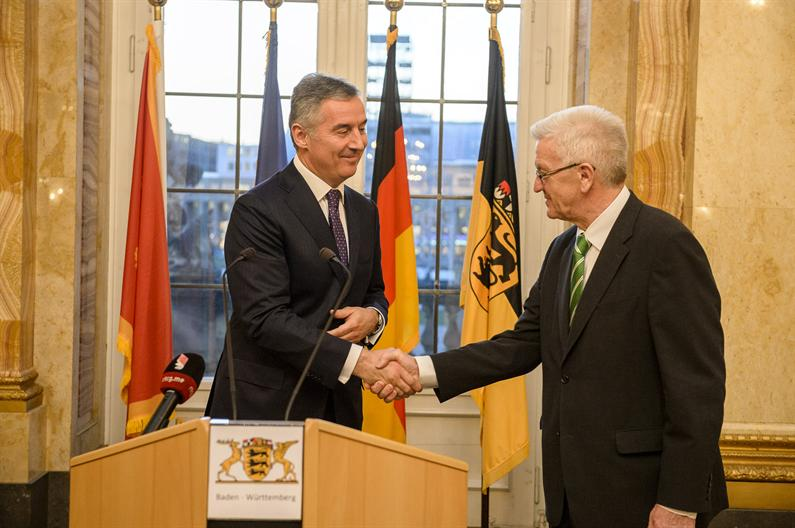 Djukanovic presents investment opportunities of Montenegro in Germany