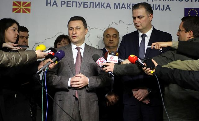 PM Gruevski ignores the opposition's request for his resignation