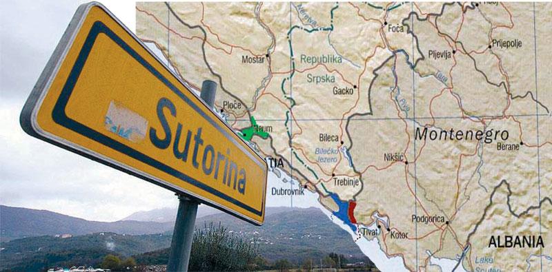 Sutorina border dispute – danger for BiH