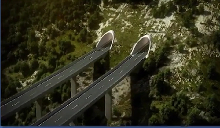 Montenegrin government paid an advance for the highway construction
