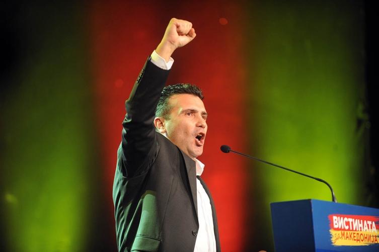 Opposition leader in FYROM demands Gruevski's resignation, VMRO-DPMNE rejects it