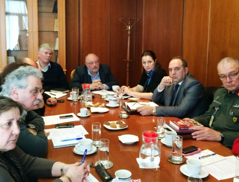 Greek Defence Ministry takes initiatives for the claiming of German reparations