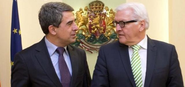 Bulgaria raises Schengen membership issue during Steinmeier visit to Sofia