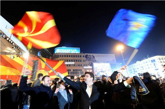 Political crisis in FYR Macedonia precipitating